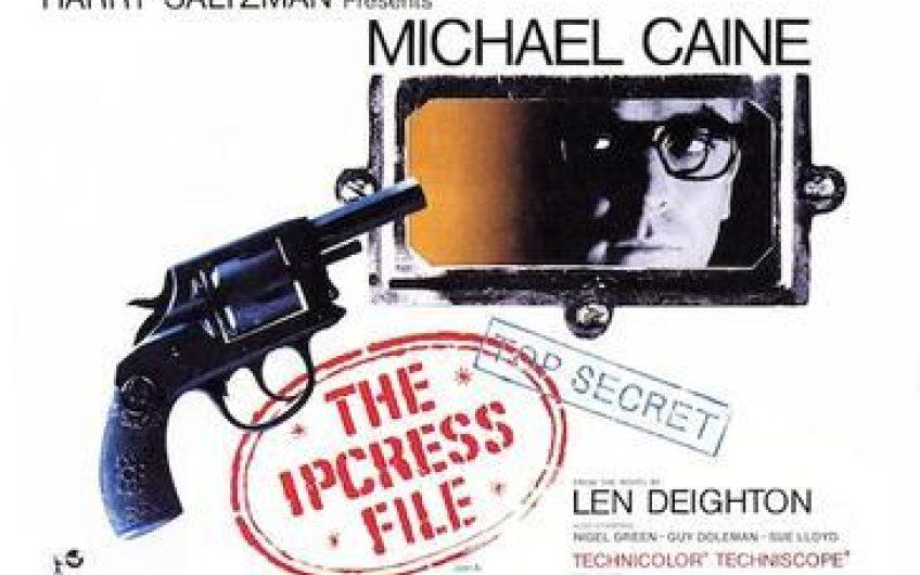 Ipcress File British Quad Poster