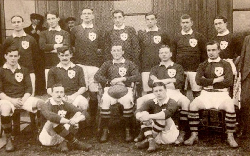 Ireland Rugby 1909