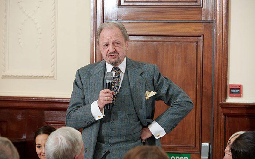 Peter Bowles Speech