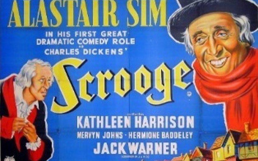 A Scrooge – 1951 Uk Film Poster