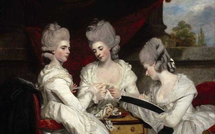Z Sir Joshua Reynolds  The Ladies Waldegrave  Google Art Project