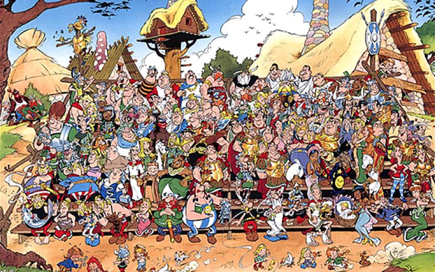 Zzz Asterix  Cast