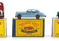 My fleet of Matchbox minis - Joseph Connolly