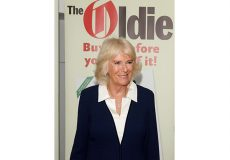HRH the Duchess of Cornwall at The Oldie of the Year Awards 2021 at The Savoy