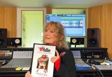 Petula Clark is presented with The Oldie of the Year Award by Gyles Brandreth
