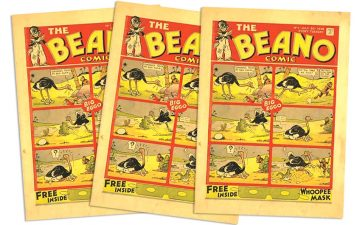 Congratulations to the Beano, star of a new show at Somerset House!