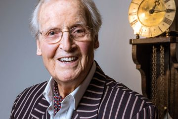 Leafing through my diary & remembering Nicholas Parsons