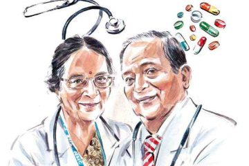 Dr Mridul & Dr Saroj Datta, Oldie NHS Angels of the Year - Donna Freed