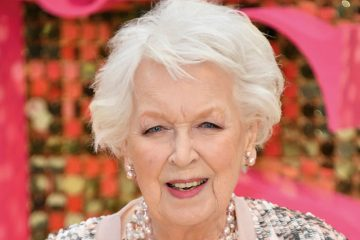 Joanna Lumley and Barry Cryer pay tribute to June Whitfield at her memorial service