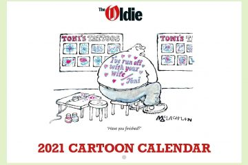 The Oldie Cartoon Calendar 2021