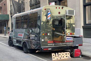 New York's mobile barber
