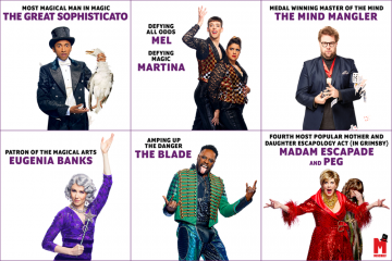WIN tickets to see MAGIC GOES WRONG in the West End