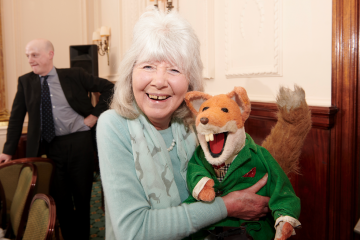 Basil Brush - from Oldie of the Year to the Generation Game!