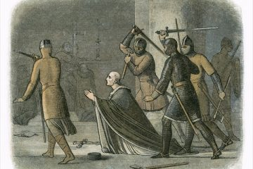 Thomas Becket's murder –my return to the scene of the crime 850 years on. By Ferdie Rous