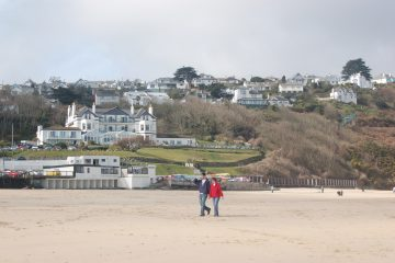 Welcome to the power hub of the world – Carbis Bay, Cornwall! By Tanya Gold