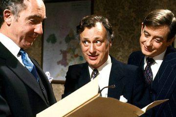 The joy of Sir Humphrey – Gerald Scarfe