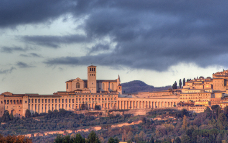 Saints in their landscape: Umbria with Huon Mallalieu, 26th April-3rd May, 2018