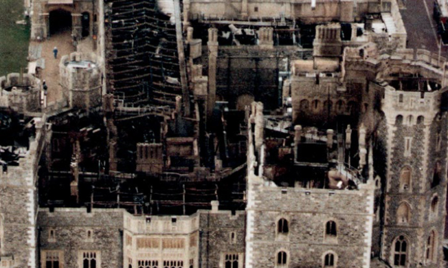 Trial by fire: The Windsor Castle blaze 25 years on - The ...