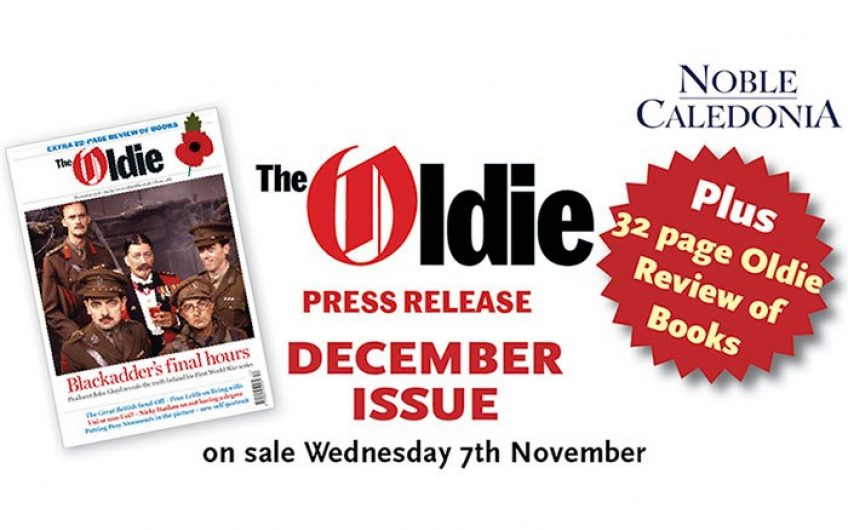 December issue of the Oldie available to download now – one week early!