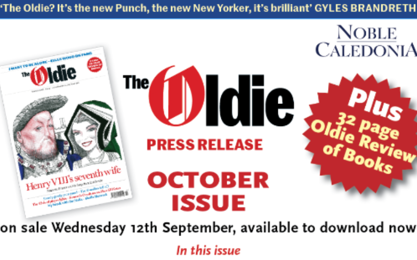 October issue of the Oldie available to download now – one week early!