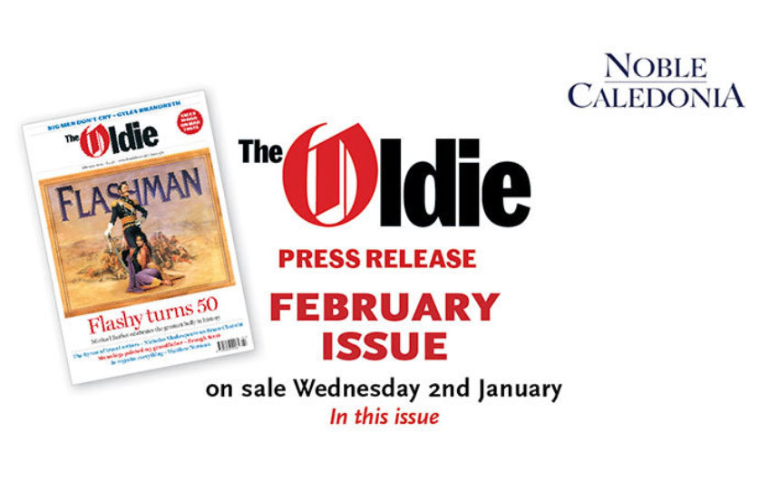 February issue of the Oldie available to download now
