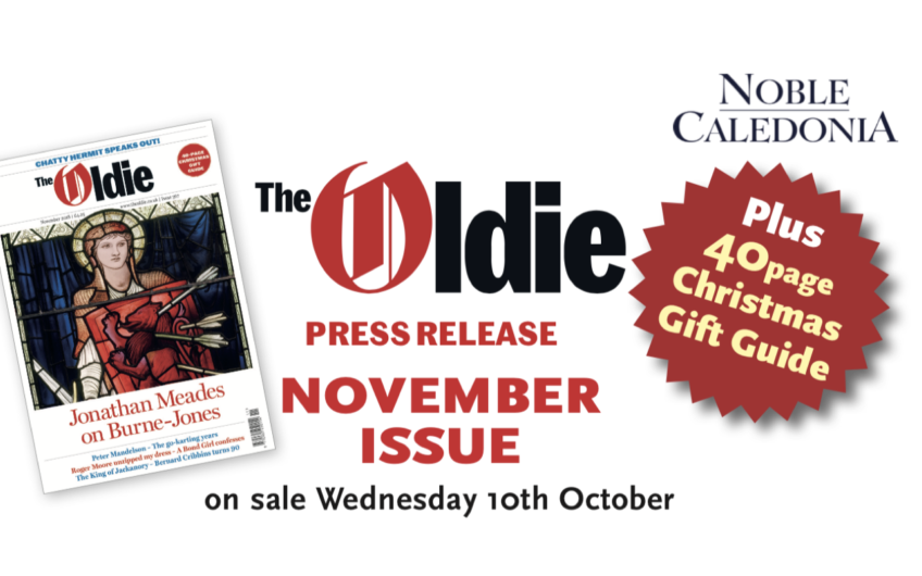 November issue of the Oldie available to download now – one week early!