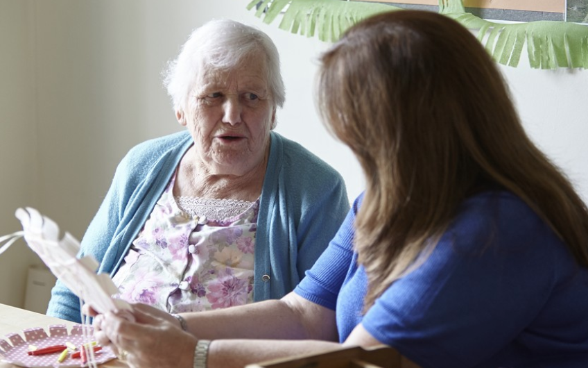 A care home can be  where the heart is