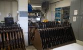 Inside Louisiana State Penitentiary - and its gun room