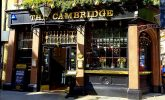 Cheers! It's opening time at the pub. By David Horspool