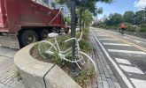 The ghost bikes of New York