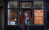 The return of graffiti to empty New York