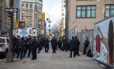 New York under lockdown