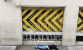The homeless of empty London