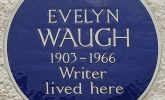 The Waugh grave wrangle - why Evelyn's grave is collapsing by Teresa Waugh