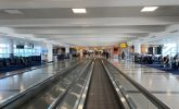 The sad emptiness of American airports
