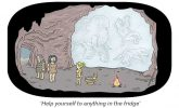 Oldie cartoon predicts the discovery of a 20,000-year-old mammoth fridge