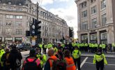 The police go in mob-handed on Extinction Rebellion