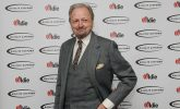 Peter Bowles wins the Oldie Silver Screen Star of the Year Award