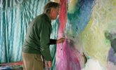 Can a blind man paint?