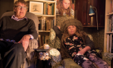 Watching TV got us talking to each other – Giles Wood and Mary Killen