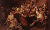 William Hogarth's fashionable orgy