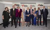 HRH the Duchess of Cornwall with the winners of The Oldie of the Year Awards 2021 at The Savoy