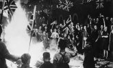 Fond memories of VE Day - and Hitler on the party bonfire