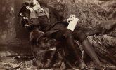 Patti Smith's pin-up? Oscar Wilde