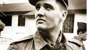 Elvis, King of the Army - Andrew M Brown