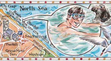 Taking a Swim: Sea Palling, Norfolk - Patrick Barkham