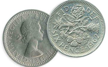 What was a sixpence? Gill Halifax