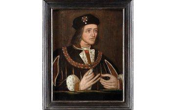 Portrait of Richard III as a Tudor baddie