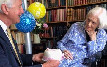A delightful 100th Birthday Lunch with Clarissa Avon, Anthony Eden's widow