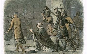 Thomas Becket's murder – my return to the scene of the crime 850 years on. By Ferdie Rous